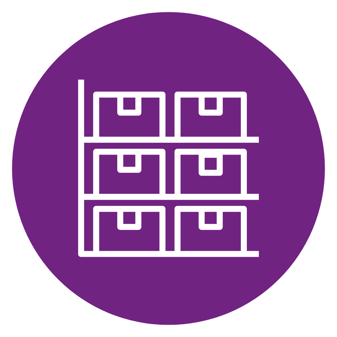 Storage and Sample Management Icon