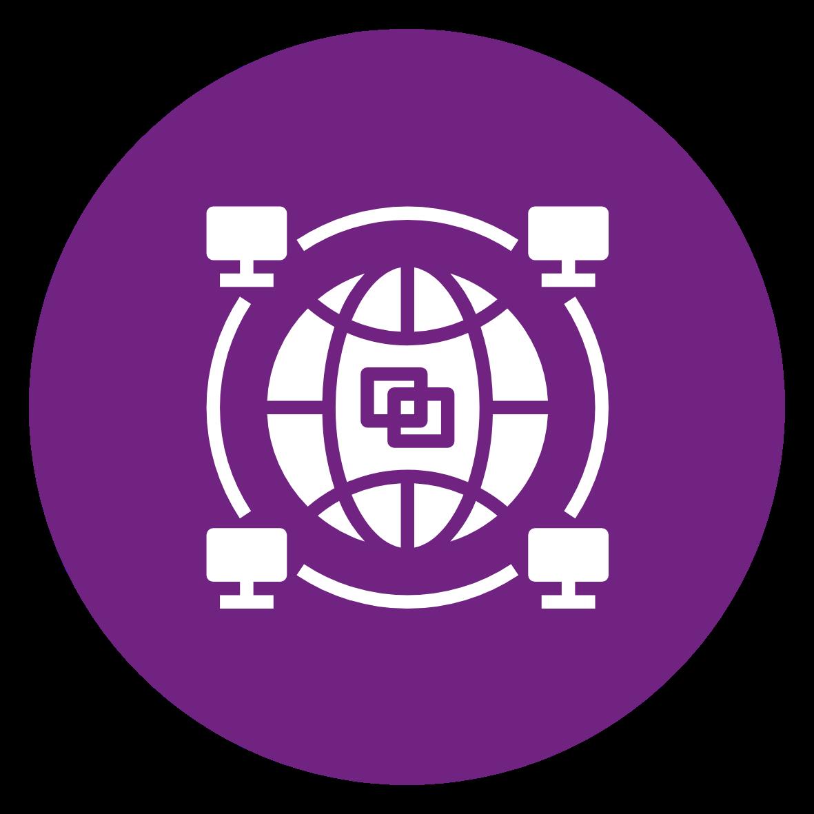 Data Centralisation Icon